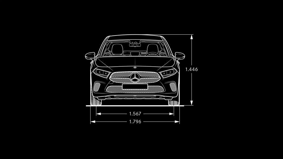 Mercedes Benz A Class Sedan Specifications
